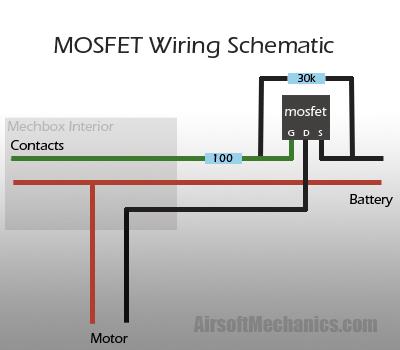 МОП-транзистора.